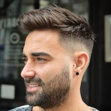 textured top faded sides 25 pretty boy haircuts mid fade haircuts and hair cuts