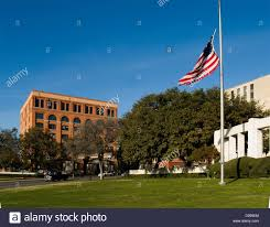 When Should The American Flag Be Flown At Half Mast Flag At Half Mast Flies In Dealey Plaza And The Sixth Floor Museum