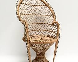 Cane Peacock Chair For Sale Peacock Chair Etsy