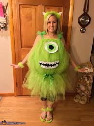 Sully Halloween Costume Adults Mike Wazowski Sulley Couple Costume Photo 2 3