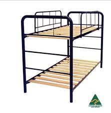 Bed Steel Frame Decker Steel Frame Bunk Bed Paul Giles