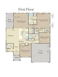 oakleigh home plan by dan ryan builders in brookfield gardens