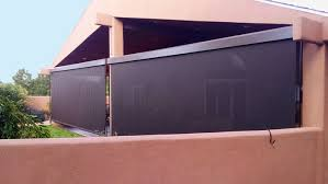 Patio Wind Screens by Santa Fe Awning Albuquerque Awning Las Cruces Awning Ultra Wide