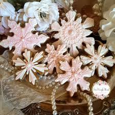 snowflake cookies christmas cookies gingerbread cookies