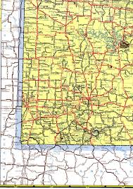 Highway Map Usa by Reference Map Of Missouri Usa Nations Online Project Missouri