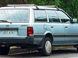 1992 subaru sambar subaru l series 0701