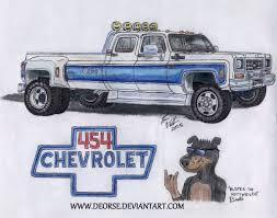 jeep gladiator 1975 buster u0027s custom 1975 chevy silverado k30 by deorse on deviantart