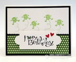 hoppy birthday card for henry stampin u0027 pretty