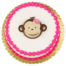 pink mod monkey cake topper mod monkey monkey and cake