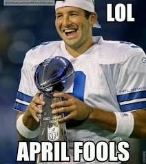 Funny Tony Romo Memes - the cowboys seem awfully confident in their strategy of building