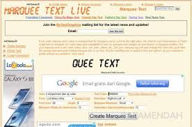 membuat teks berjalan menggunakan html cara membuat tulisan berjalan di wordpress alamendah s blog
