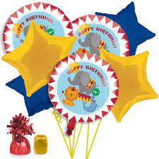 circus balloon circus time birthday balloon bouquet kit circus themed party