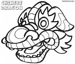chinese dragon coloring pages coloring pages to download and print