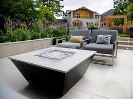 aztec gas fire pit table luxury outdoor fires from rivelin