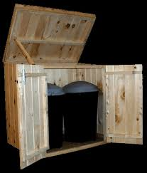 Trash Can Storage Cabinet 28 Best Diy Images On Pinterest Garbage Can Shed Garbage Can