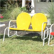 beautiful retro outdoor glider reference outdoor benches ideas