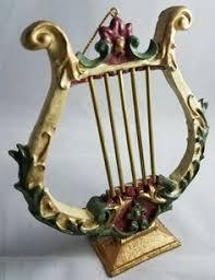 musical instrument mandolin tree ornament metal