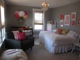 little nursery with full size bed as well as crib love the