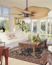 Indoor Tropical Ceiling Fans With Lights Tahiti Caribbean Tropical Indoor Or Outdoor Ceiling Fan Palm Leaf