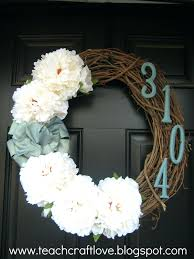 articles with front door wreaths for spring and summer tag