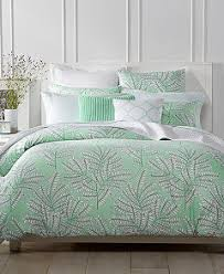 Green Double Duvet Cover Charter Club Damask Designs Fern Mint Bedding Collection Created