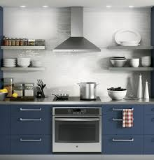 appliances stunning blue modern contemporary kitchen cabinet with