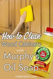what is the best wood cleaner for cabinets how to clean wood cabinets with murphy s soap