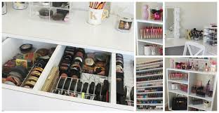 Makeup Vanity With Lights Makeup Collection Storage Room Tour Kathleenlights Youtube