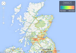 map of east uk map reveals mobile coverage across the uk and which network is