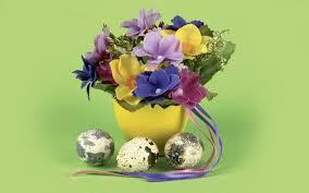 easter eggs wallpapers flowers and easter eggs wallpaper allwallpaper in 6344 pc en
