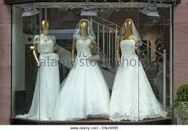 wedding dresses shop wedding dresses shop display stock photos wedding dresses shop
