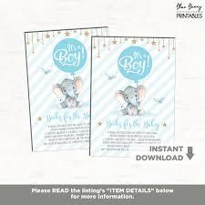 blue gold elephant baby shower twinkle little stars books for