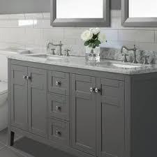 Double Bathroom Vanity by Navy Bathroom Vanity Wayfair
