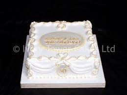 50th anniversary cake ideas cakes glasgow ivory tower cakes