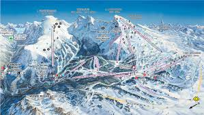Colorado Ski Areas Map by Banff Piste Map U2013 Free Downloadable Piste Maps
