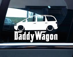 hoonigan stickers on cars car styling for lowered vw sharan mk1 daddy wagon funny car