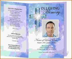 doc 920687 free printable memorial service programs u2013 free