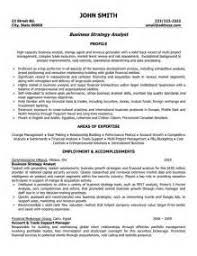 business analyst sample resumes list of qualifications business