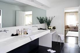 Shower Rooms by White Square Shape Wash Basin Contemporary Bathroom Vanities
