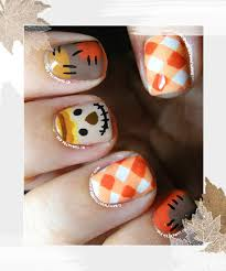 scarecrow nails 18 thanksgiving and fall nail ideas that