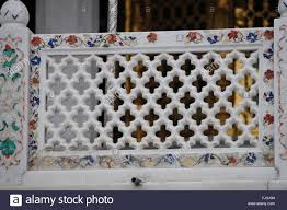 jali screens golden temple amritsar punjab india asia stock