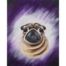 pug x boxer dog picture pug 40 5cms x 50 5cms mick wright caricatures u0026 cartoons