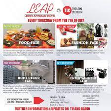 Home Decor Fair Lekki African Expo Leap Set To Debut At The Lekki Coliseum July 7