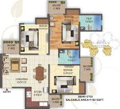 houses layouts floor plans aaradhyam golf homes in sector 1 noida extension noida price