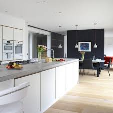 Grey And White Kitchen Diner Ideas Open Plan Kitchen Diner Ideas Kitchen Design U2013 Home Devotee