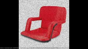 bleacher seat cushion chair youtube