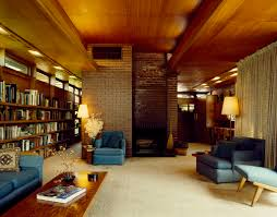 1940 homes interior living room at the stanley rosenbaum house in florence alabama one