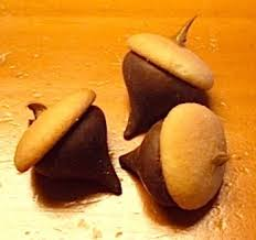 chocolate acorn treats things to make and do crafts and