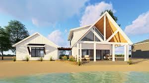house plan with detached garage plan 62651dj modern cabin with loft and detached garage laghi