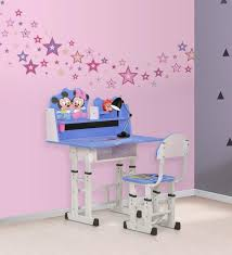 Oak Study Desk Buy Mickey U0026 Minnie Study Desk U0026 Chair Set By Royal Oak Online